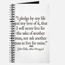 Galt Pledge Journal