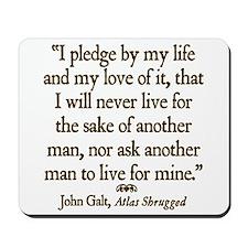 Galt Pledge Mousepad