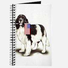 Landseer with flag Journal