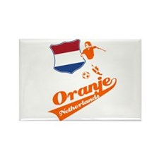 Dutch soccer Rectangle Magnet