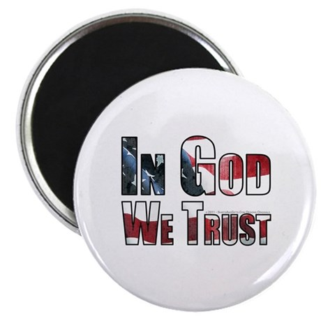 "In God We Trust 2.25"" Magnet (100 pack)"