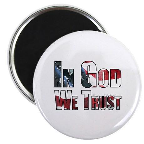 In God We Trust Magnet