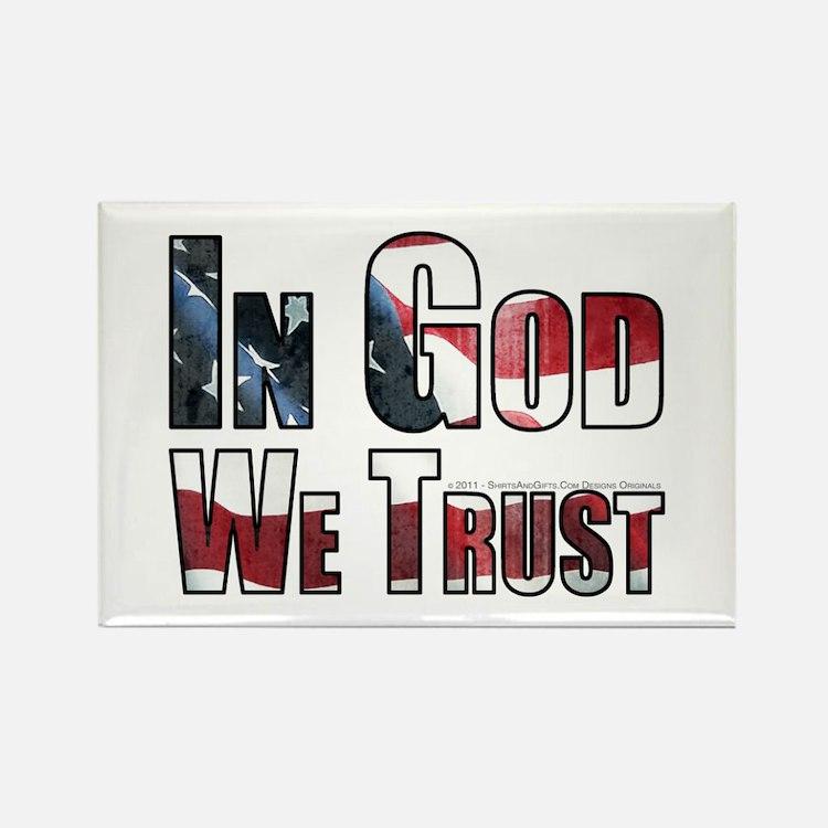 In God We Trust Rectangle Magnet