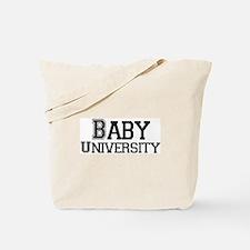 Baby University Tote Bag