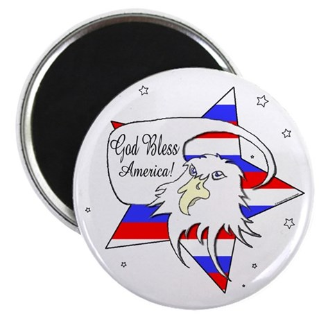 American Eagle Christian Magnet