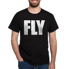 FLY (Bold) Black T-Shirt