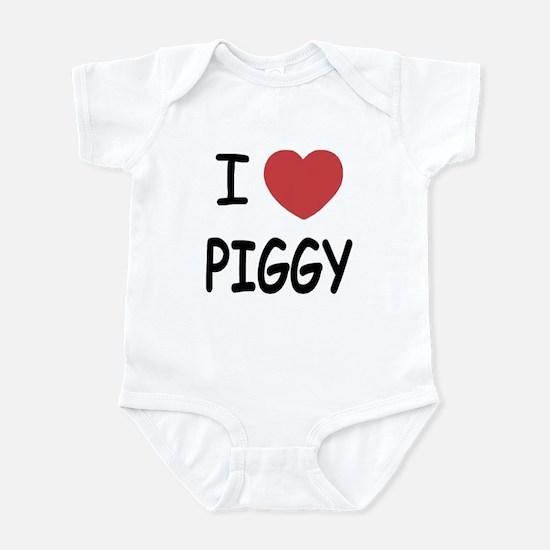 I heart Piggy Infant Bodysuit