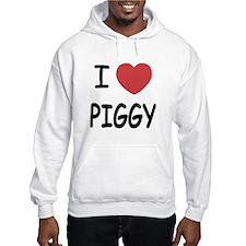 I heart Piggy Hoodie