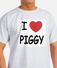 I heart Piggy T-Shirt
