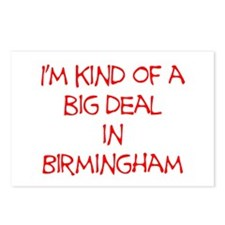 I'm Kind of A Big Deal In Birmingham Postcards (Pa