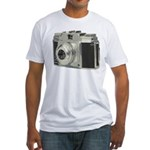 Vintage Camera Fitted T-Shirt