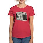 Vintage Camera Women's Dark T-Shirt