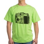 Vintage Camera Green T-Shirt