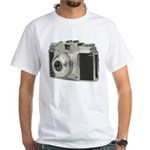 Vintage Camera White T-Shirt