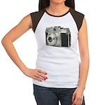 Vintage Camera Women's Cap Sleeve T-Shirt