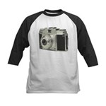 Vintage Camera Kids Baseball Jersey