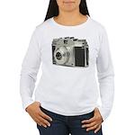 Vintage Camera Women's Long Sleeve T-Shirt