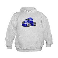 Peterbilt 587 Blue Truck Hoodie