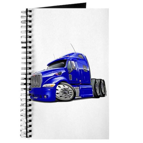 Peterbilt 587 Blue Truck Journal