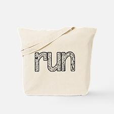 Cute Funny marathon Tote Bag