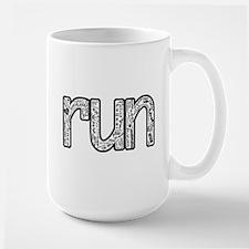 run collage Mugs