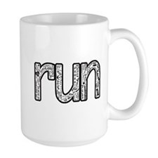 run collage Mugs