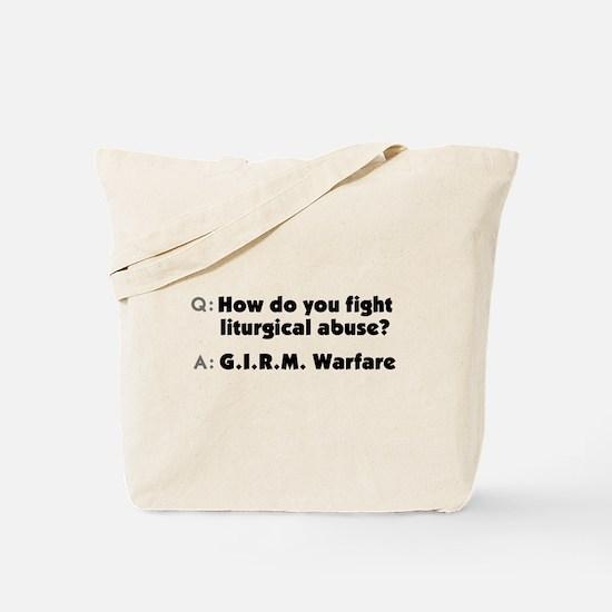 GIRM Warfare Tote Bag