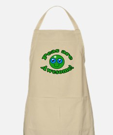 Peas are awesome Apron
