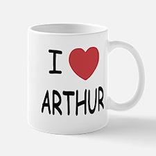 I heart Arthur Mug