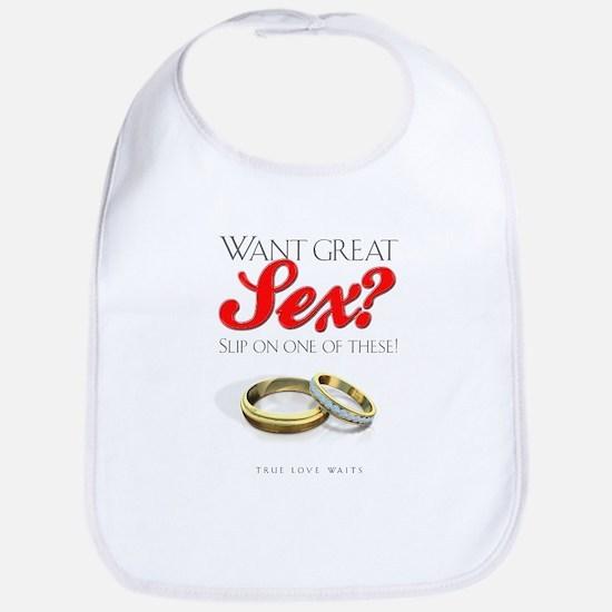 Want Great Sex Bib