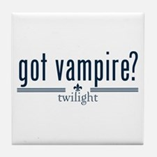 Got Vampire? by Twibaby Tile Coaster
