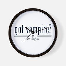 Got Vampire? by Twibaby Wall Clock