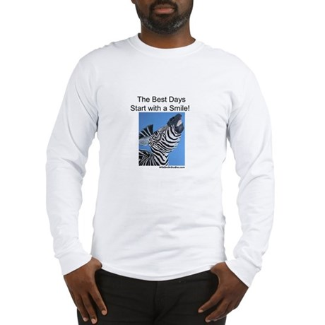 The Best Days Start with a Sm Long Sleeve T-Shirt