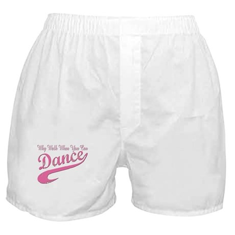 Why walk when you can Dance Q Boxer Shorts