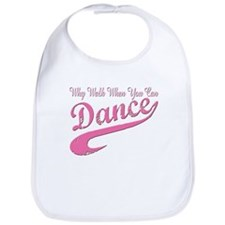 Why walk when you can Dance Q Bib