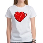 PeaceHeartPnkPD T-Shirt