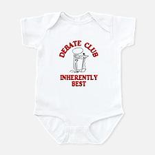 Debate Club Inherently Best Infant Bodysuit