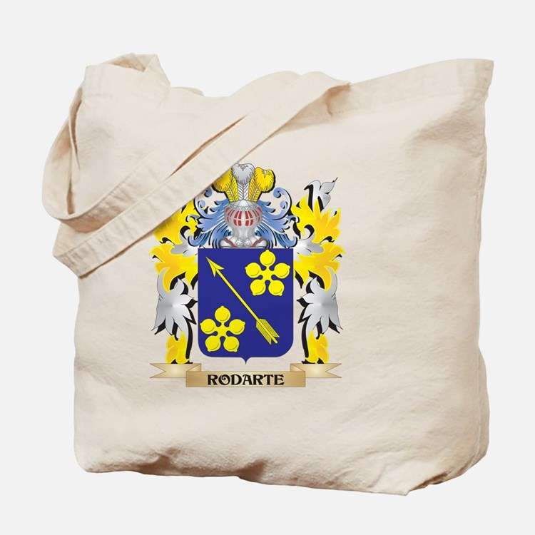 Rodarte Family Crest - Coat of Arms Tote Bag