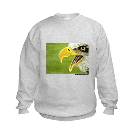 Bald Eagle Kids Sweatshirt