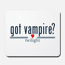 got vampire? with heart by twibaby Mousepad