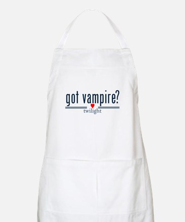 got vampire? with heart by twibaby Apron