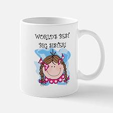 (Brunette) Best Big Sister Mug