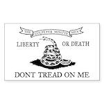 Culpeper Flag Sticker (Rectangle 50 pk)
