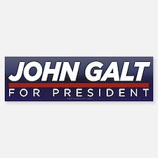 John Galt for President Bumper Bumper Sticker
