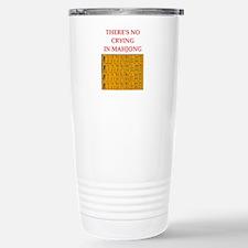 i love mahjong Travel Mug