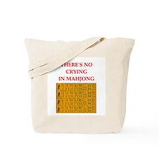 i love mahjong Tote Bag