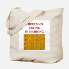 i love mahjong Tote Bag