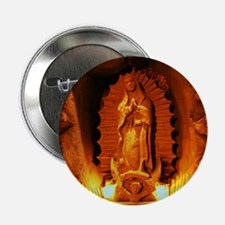 Virgin of Guadalupe Button