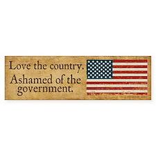 Love the Country Bumper Sticker