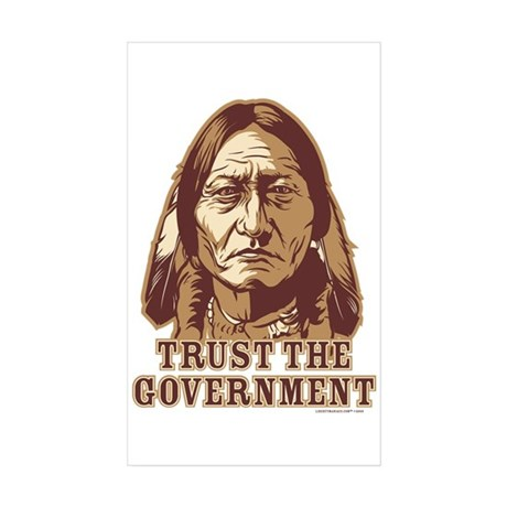 Government Sticker (Rectangle 10 pk)